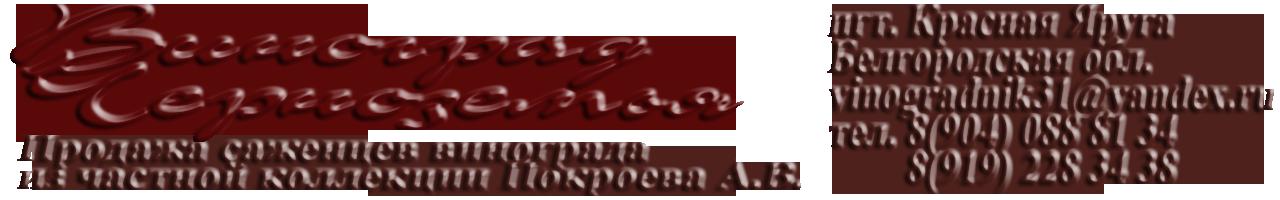 Виноград Черноземья